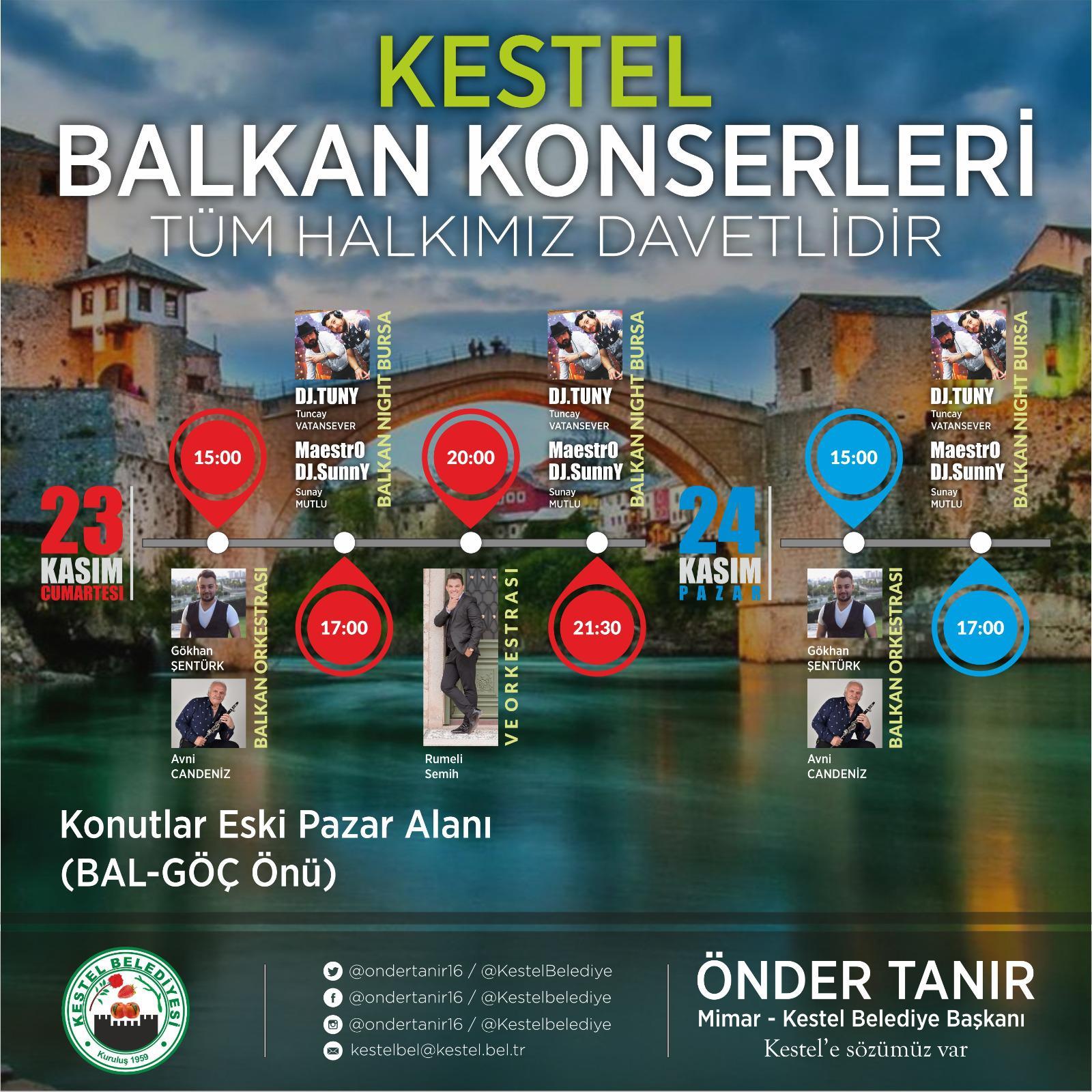 KESTEL BALKAN KONSERLERİ