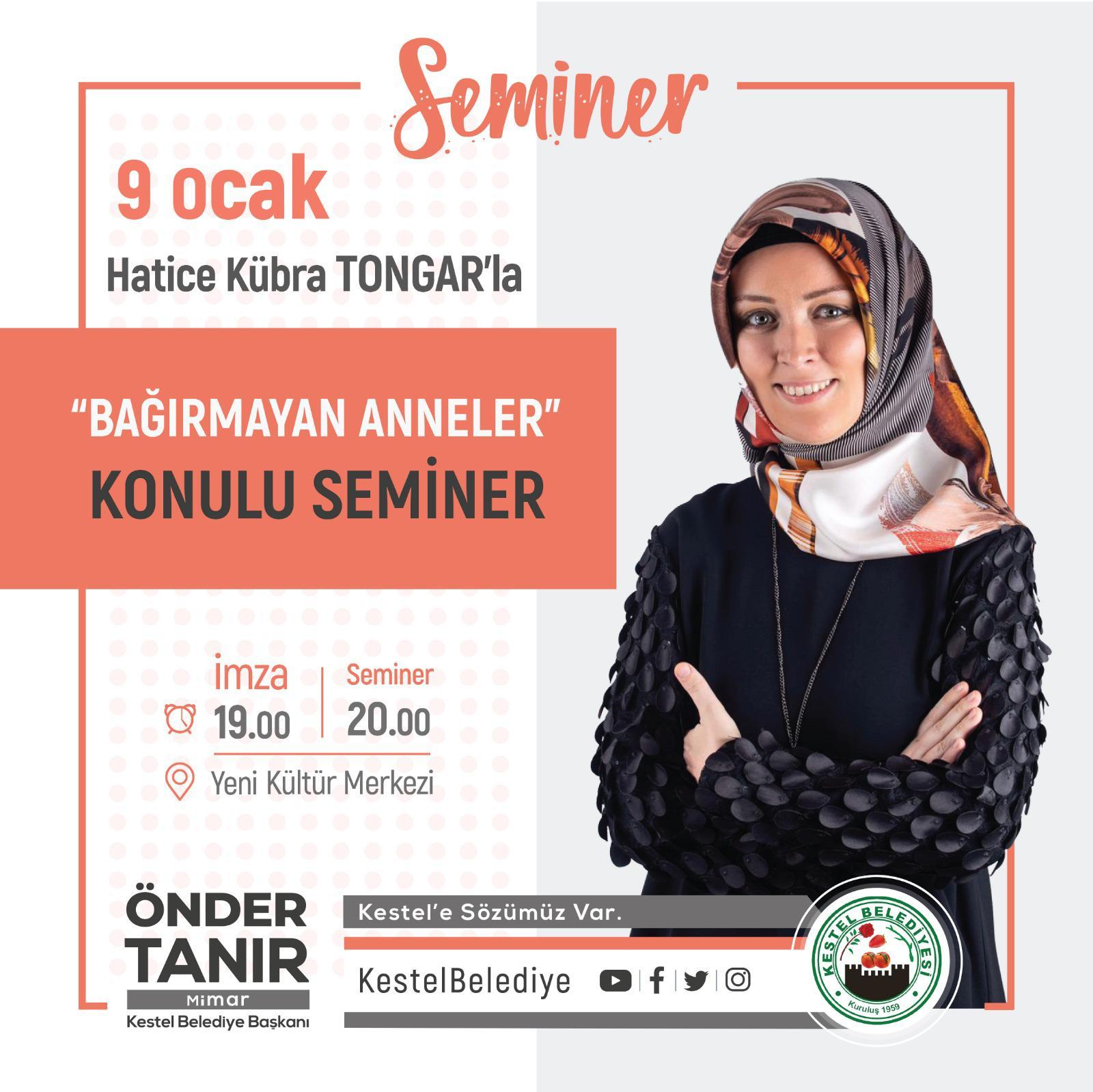 """""""BAĞIRMAYAN ANNELER"""" konulu SEMİNER"""